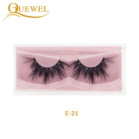 25mm Real 3d Mink Eyelash With 25mm Mink Eyelash 3d Wholesale False Eyelashes Vendor Manufacturers