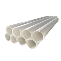 High quality white plastic large diameter polypropylene pp drain pipes