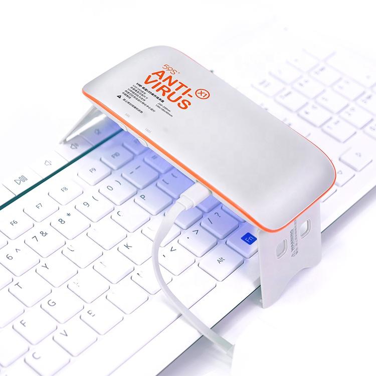 Portable Ultraviolet Lamp Uv Sterilizer Light Usb Rechargeable Uvc Lamp Handheld Disinfection