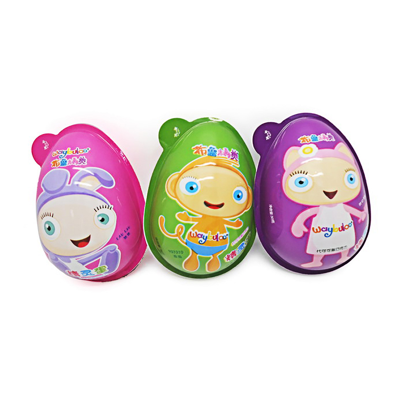 candy toys Interesting egg with chocolate and funny toys in,6pcs/display box