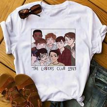 Ретро готический летний Loser Lover, мягкий эстетический костюм для девочек, футболка с графикой Harajuku, женские вечерние футболки(China)