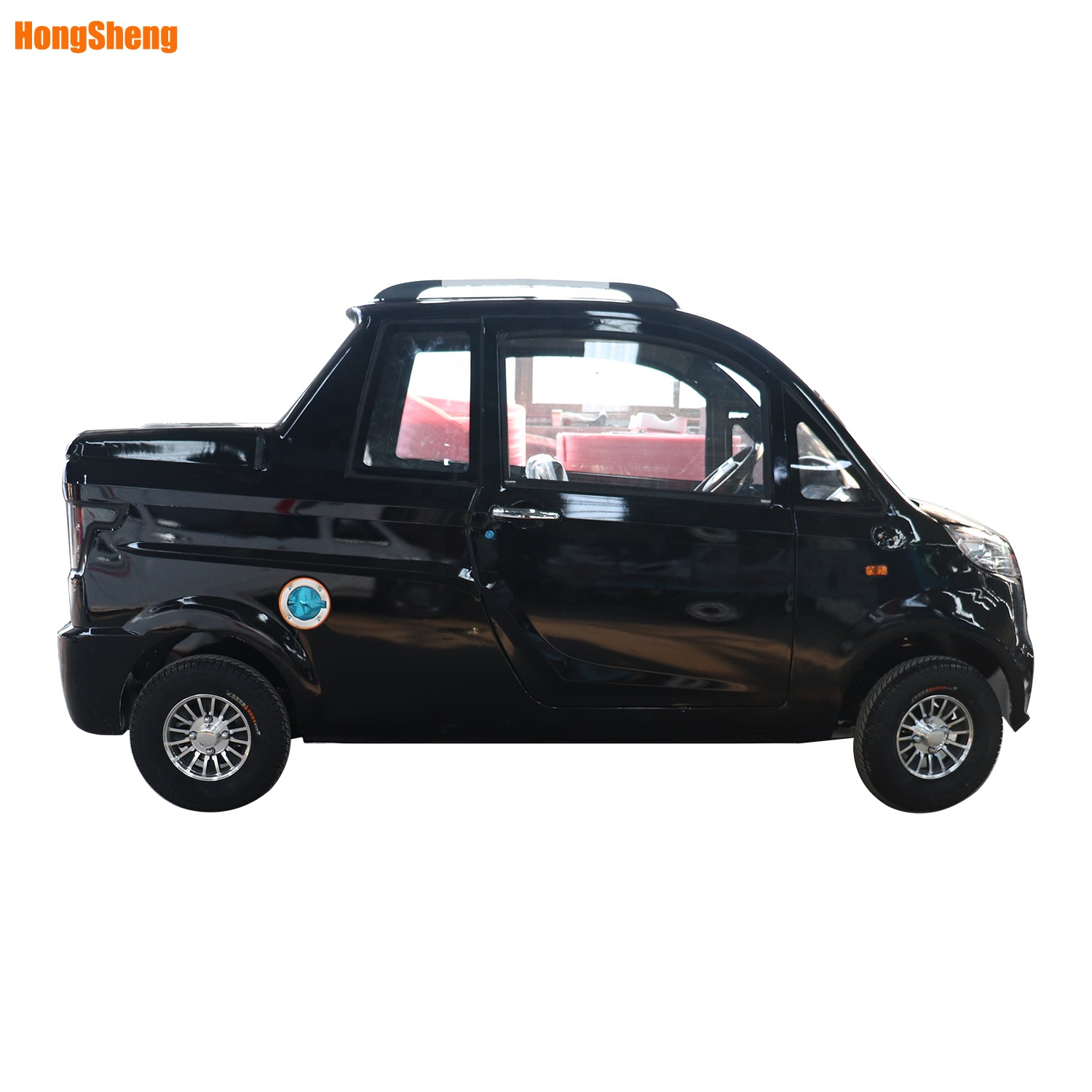 Factory 4 wheels electric pickup car / china electric pickup truck