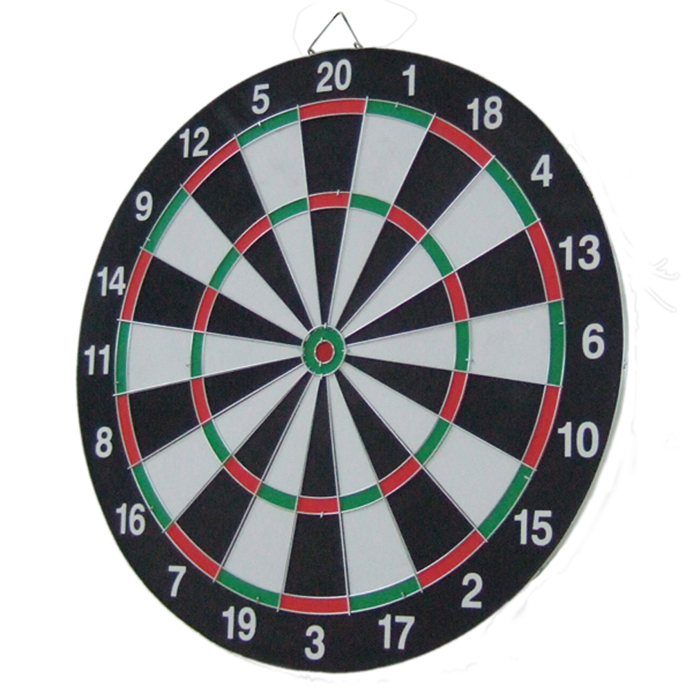 Directly Factory Double-sided Paper Dartboard with 4 Brass Darts Game Set repair kit