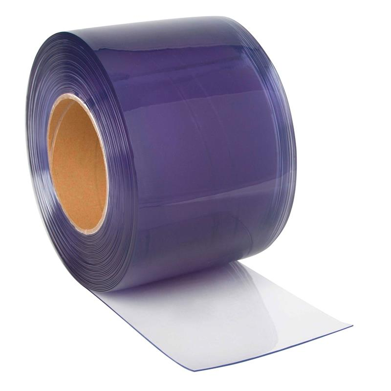 Super Clear transparent PVC curtain/ Sliding PVC curtain strip roll with Smooth surface