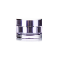 15g 30g 50g PP small acrylic cosmetics cream empty jar 100ml plastic cream jar
