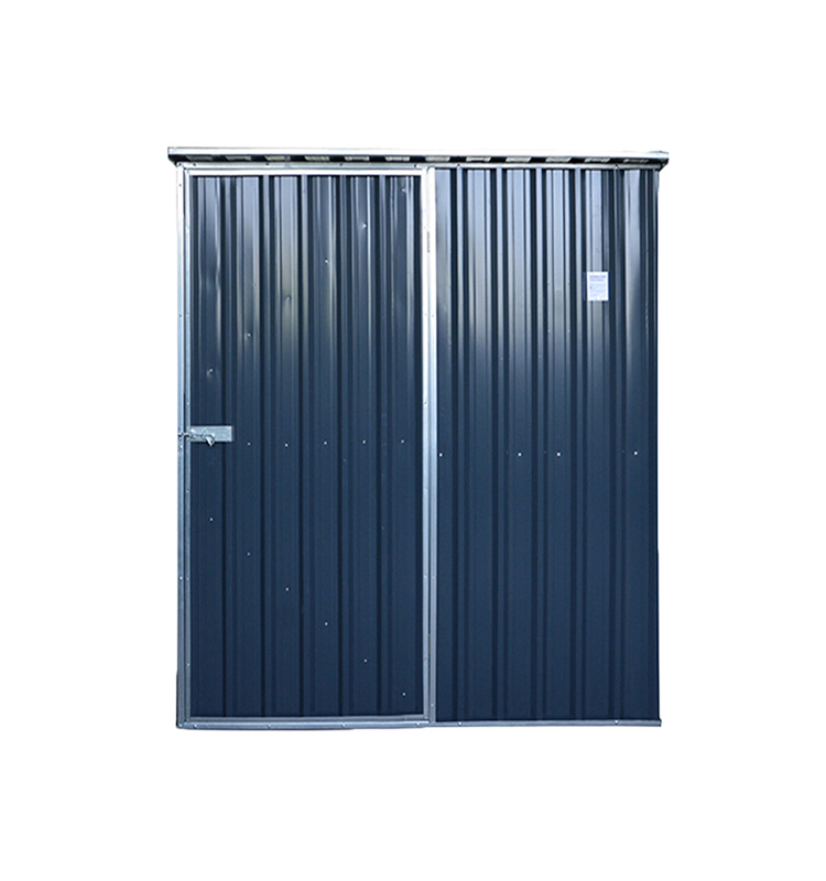 SUE Widely used and popular style flat roof metal outdoor garden garages and sheds for sale bike sheds motorcycle shed