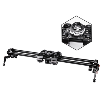 Hot Selling 100cm Dolly Rail Length Aluminum Professional Video Slider For Camera