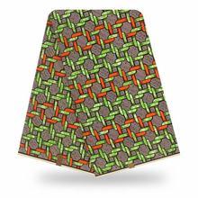 Африканский воск 100% хлопок оригинальный воск ткань 2020 африканская печать ткань для свадебного платья ткани африканская ткань(China)