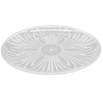 Plastic Fruits Flat PC Acrylic Plate for Wedding and Party