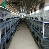 automatic commercial rabbit farm cage system in kenya farm