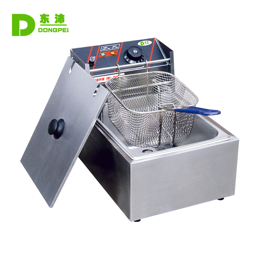 <strong>Commercial</strong> Electric Chicken <strong>Fryer</strong>/Single Tank <strong>Fryer</strong>/Stainless Steel <strong>Deep</strong> <strong>fryer</strong> on sale