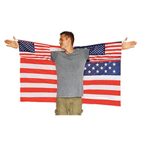 American Popular Body Cape National Flag