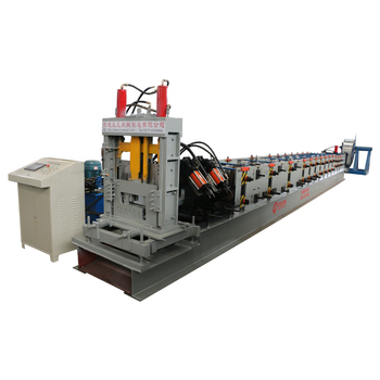 Automatic channel steel purlin z beam roll forming machine