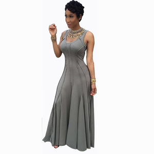 High Quality Casual Sexy Latest Party Wear For Girl Woman Long Dress