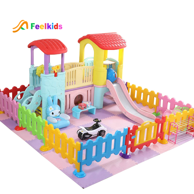 ホット販売屋内子供の多機能子供遊び場幼稚園プラスチックままごとスライド