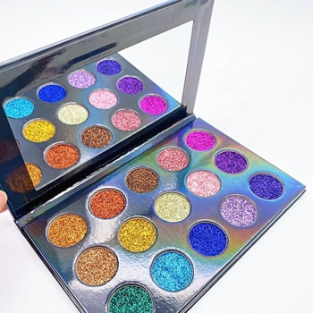 High Pigment Beauty Long Lasting Eye Shadow Single Custom Private Label Glitter Eyeshadow