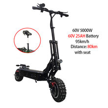 5000 Вт Электрический скутер 95 км/ч высокая скорость 38,5 Ач скейтборд бездорожье Patinete Electrico Adulto Escooter Электрический длинный Ховерборд(Китай)