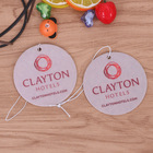 Custom Printing Logo Paper Car Air Freshener Fragrance Scents Personalised Air Fresheners Hanging
