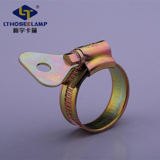 फैक्टरी प्रत्यक्ष आपूर्ति कीड़ा ड्राइव नली clamps स्टेनलेस दबाना पेंच के लिए थोक