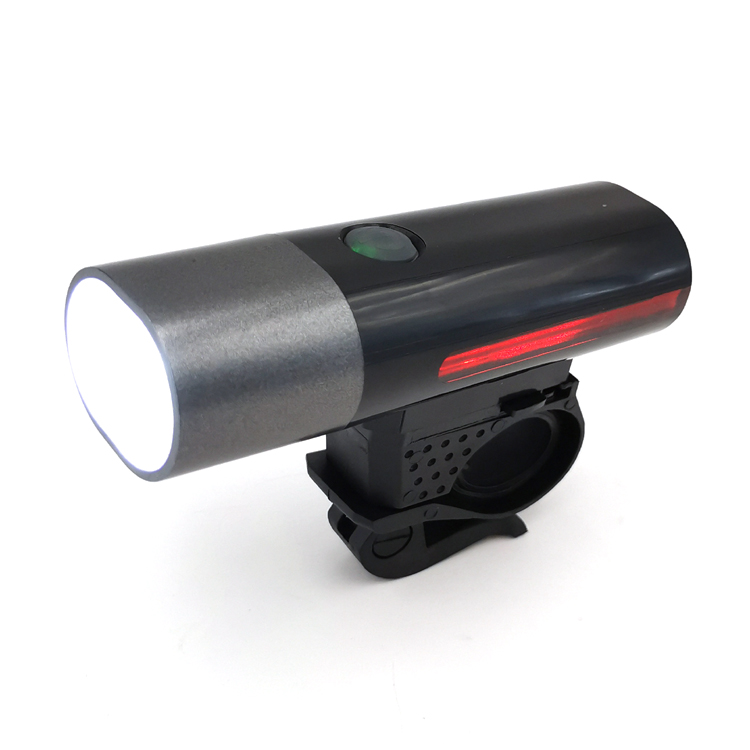 high power 300 lumens ABS material usb rechargeable bike light bicycle front light