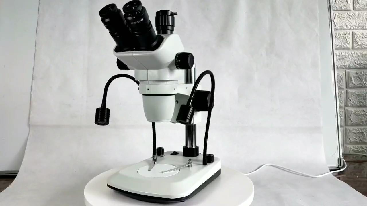 BZ6745 серии 3.4X-270X бинокулярный стерео микроскоп тринокулярный микроскоп