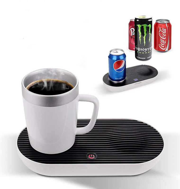 Multifunction Constant Heated Cooling Mug /cup With Warmer and Cooler