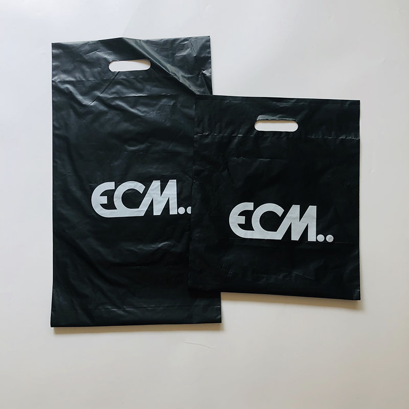 custom printed black tshirt packaging plastic courier express shipping bags for clothing