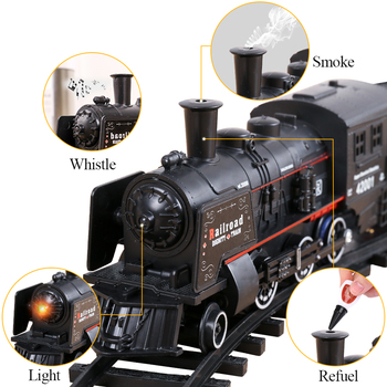 Amazon hot toy train 2020 Slot Toy wholesale Children's toy