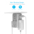 High Quality Customize Worldwide Universal International USA Mobile Cell Phone Plug Socket Dual Port 2 Usb CE Multi Wall Charger