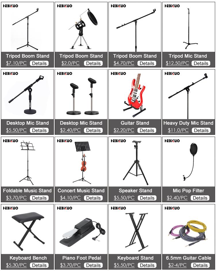 Professionelle Stativ Nach mikrofon stand design, tisch mic stand folding