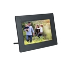 factory sale directly 4 hour rechargeable Battery Powered Digital Photo Picture Frame 7 Inch for supermarket