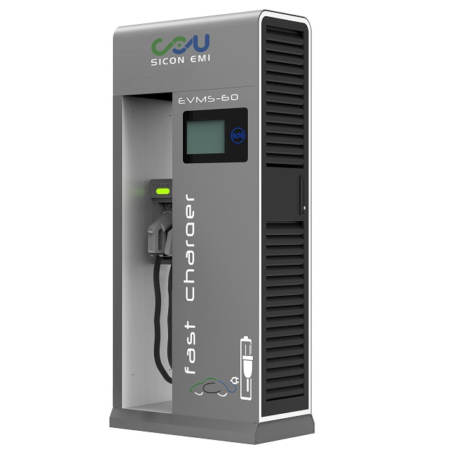 60KW 120KW 150KW חשמלי רכב רכב DC מהיר טעינת תחנת CCS CHAdeMO AC עם 30kw מודול מתח 150V ~ 1000V תקן IEC