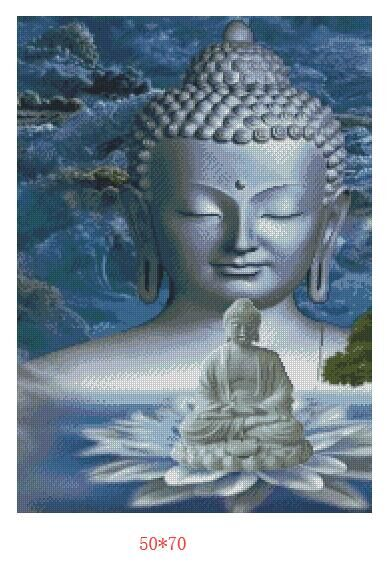High quality good canvas big buddha dream full drilled Diamond Painting