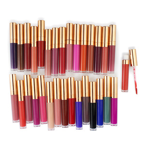 Makeup Factory Customize private label No Label 30 colors Liquid Matte Lipstick