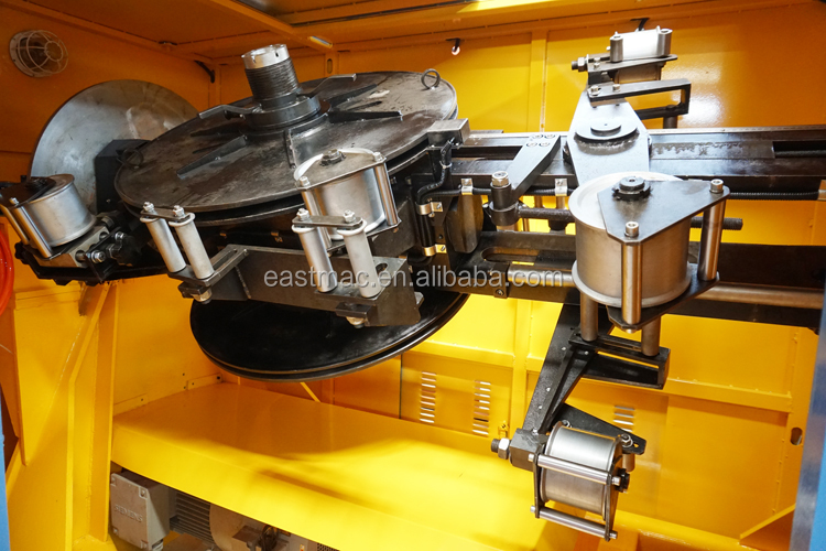 high speed eccentric type wire and cable metallic taping machine for MV HV power cable