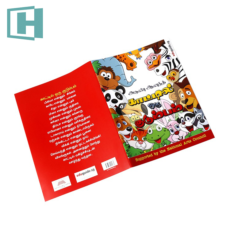 Children's Books By Age 6 8 Custom Book Printing Paperback Softcover Children Book Printing