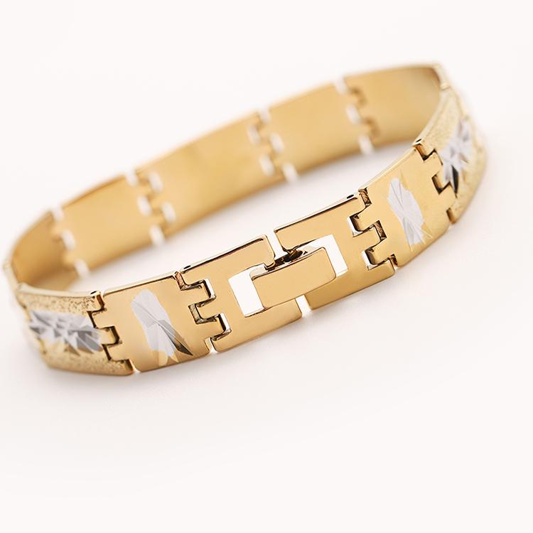 SAF ювелирные изделия оптом гольф дизайн золото мощность браслет баланс пара спортивный браслет