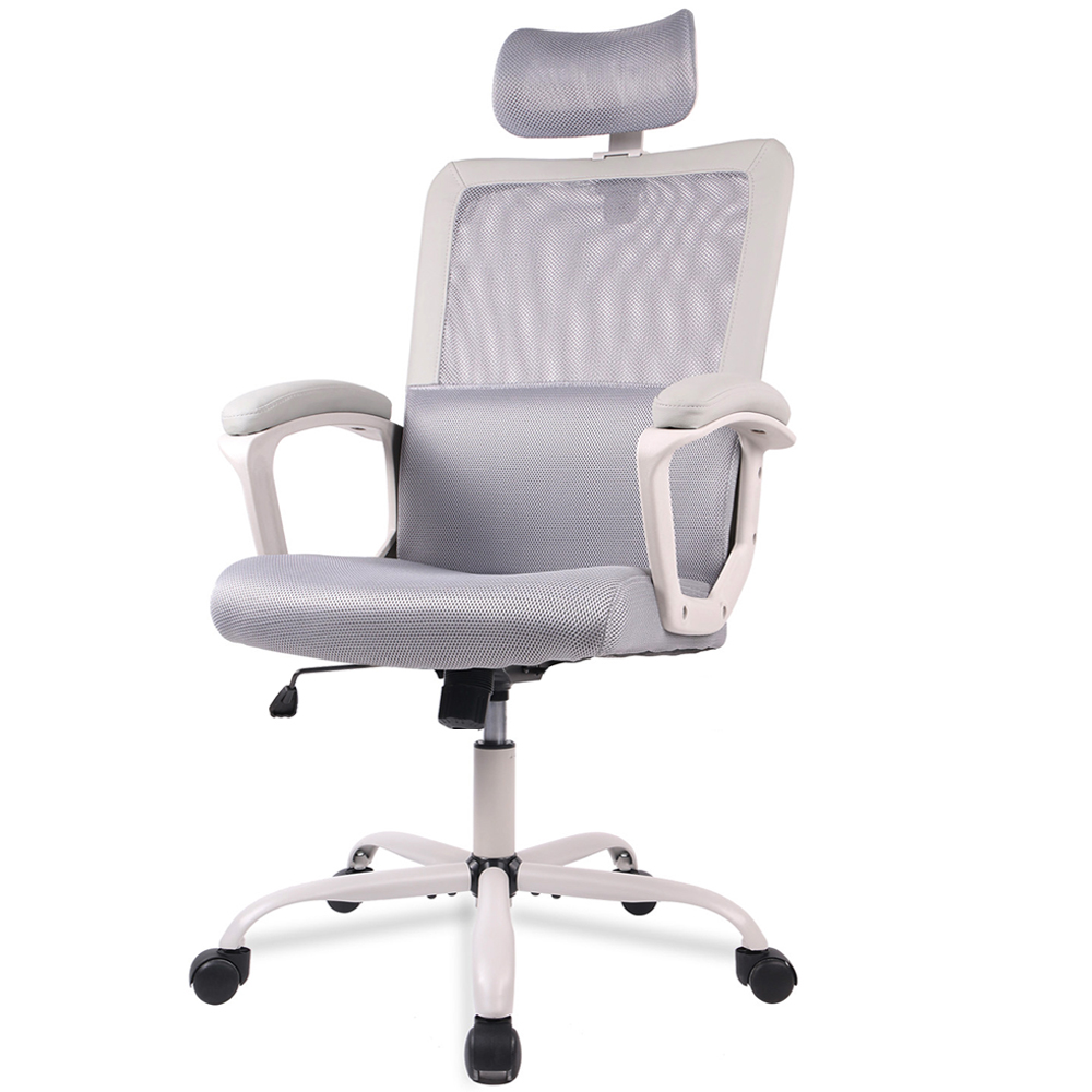 USA STOCK Mid-Back Ergonomic Office Lumbar Support Mesh Computer Desk Task Chair office chair with Armrests