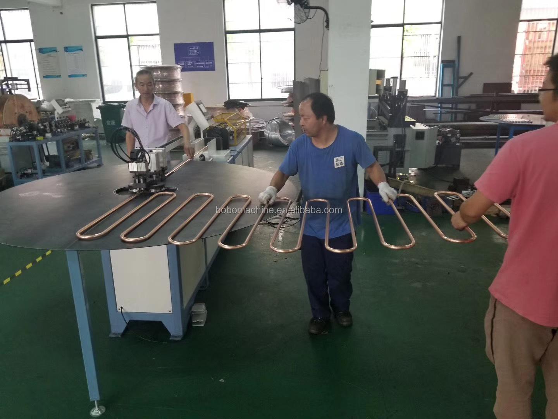 Semi-automatic Serpentine Shape Copper and Aluminum Pipe Tube Bending Machine