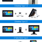 China Multi Touch 15 Inch Screen S5 Touch J8 Monitor