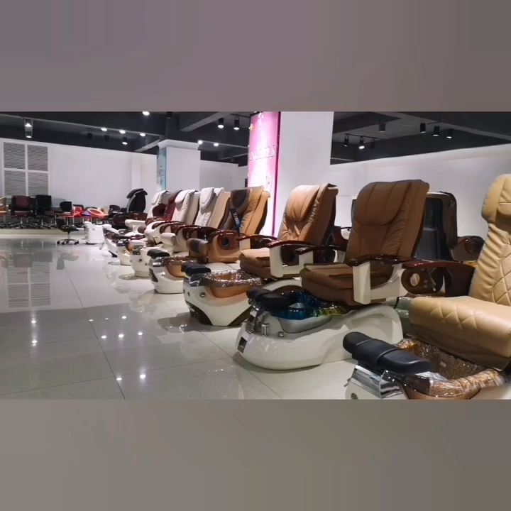 Wholesale Cheap Price Beauty Nail Salon Furniture Modern Luxury Electric Pipeless Whirlpool Foot Spa Massage Pedicure Chair