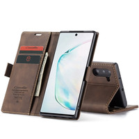 Luxury Leather Phone Case For Samsung note10 Case, Magnetic Flip wallet bag Case For Galaxy note 10 pro with stand