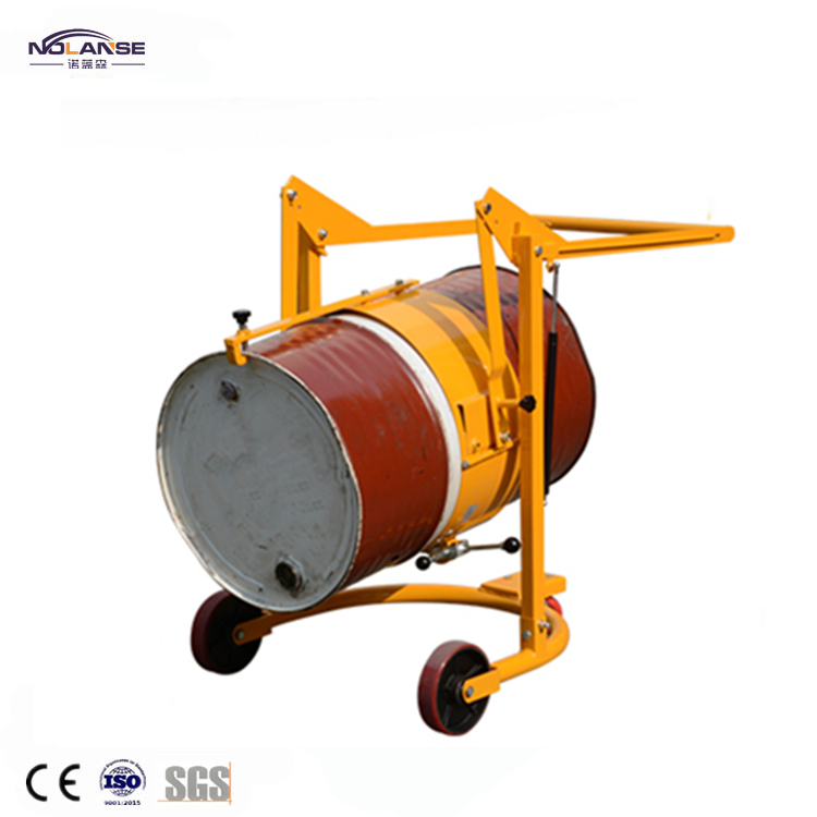 Professional High Quality Drum Grab Pedaled Hydraulic Drum Transporters