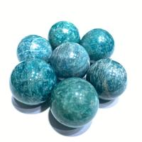 Wholesale High Quality Natural Crystal Ball Gemstone Beads Amazonite Beads For Jewelry Making