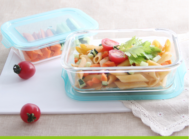 Wholesale BPA free microwave safe glass lunchbox food fresh container