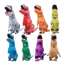 I Bambini di età Fancy Dress Suit Cosplay Gioco Blow up Costume Dinosauro <span class=keywords><strong>Gonfiabile</strong></span> Costume