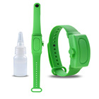 Silicone Bracelet Adjustable Amazon Hot Band Wristband Silicone Adjustable Sterilization Dispenser Hand Sanitizer With Bracelet