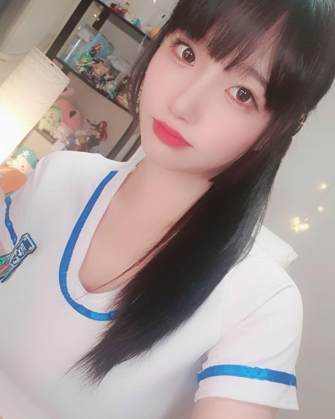韩国女主播兼cosplay美女+二次元妹子秀莲 韩国妹子 女主播 第8张
