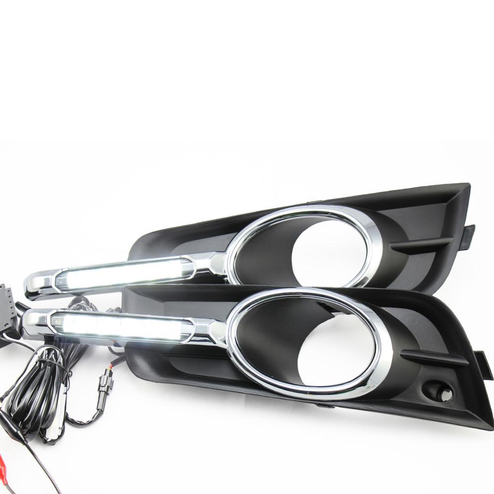 T10 Drl Led Daytime Running Light For Chevrolet Cruze Having Foglight High Quality