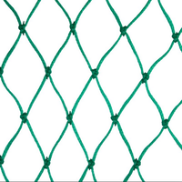 PP PE nylon polyester wire rope net for fencing ,fencing nets
